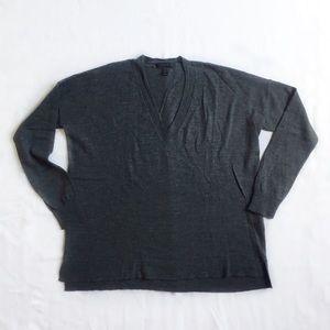 J. Crew Merino V-neck Boyfriend Sweater
